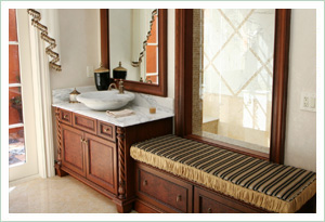 ABS - A Bathroom Solution - A bathroom with a low sink